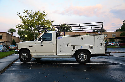 Ford : F-250 HD 250 1997 ford hd 250 2 wd service body roof rack v 8 auto trans