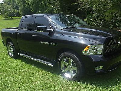 Dodge : Ram 1500 Sport Crew Cab 4X4 2011 ram 1500 sport crew cab 4 x 4 used 5.7 l v 8 hemi low miles