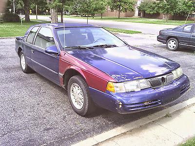 1994 mercury cougar cars for sale smartmotorguide com