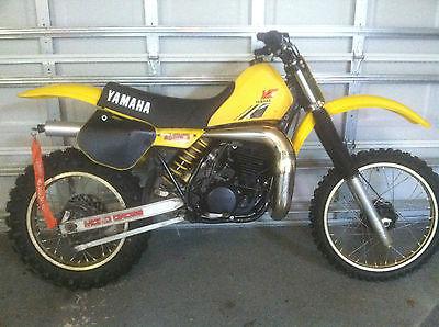 Yamaha : YZ 1984 yamaha yz 490 l ahmra evo class mx racer