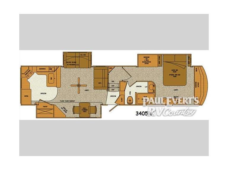 Lifestyle Rv Alfa Gold 3405rk RVs For Sale