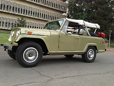 Jeep : Commando SUV 1969 jeepster commando mint