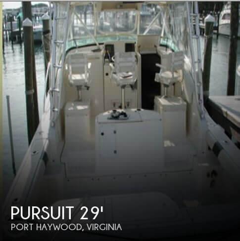 1998 Pursuit 3000 Offshore
