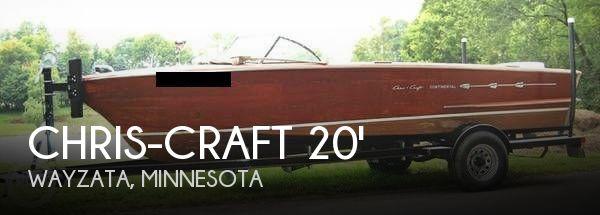 1957 Chris-Craft 20 Continental