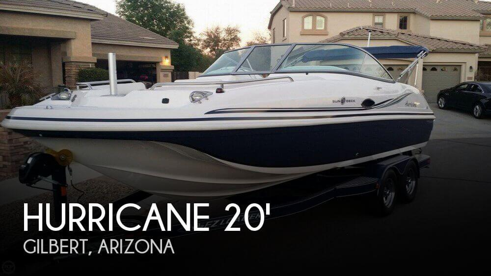 2013 Hurricane 217 Sun Deck