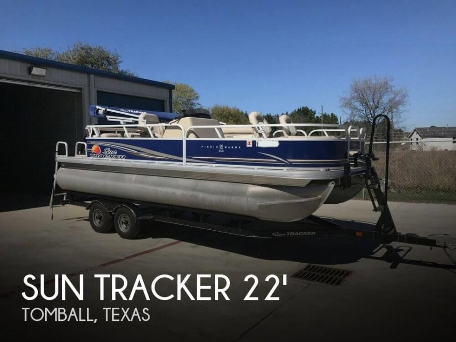 2014 Sun Tracker Fishin Barge 22 DLX