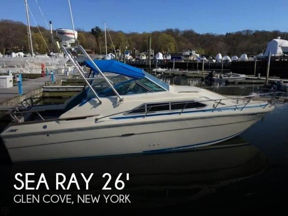 1980 Sea Ray SRV 260 Sundancer
