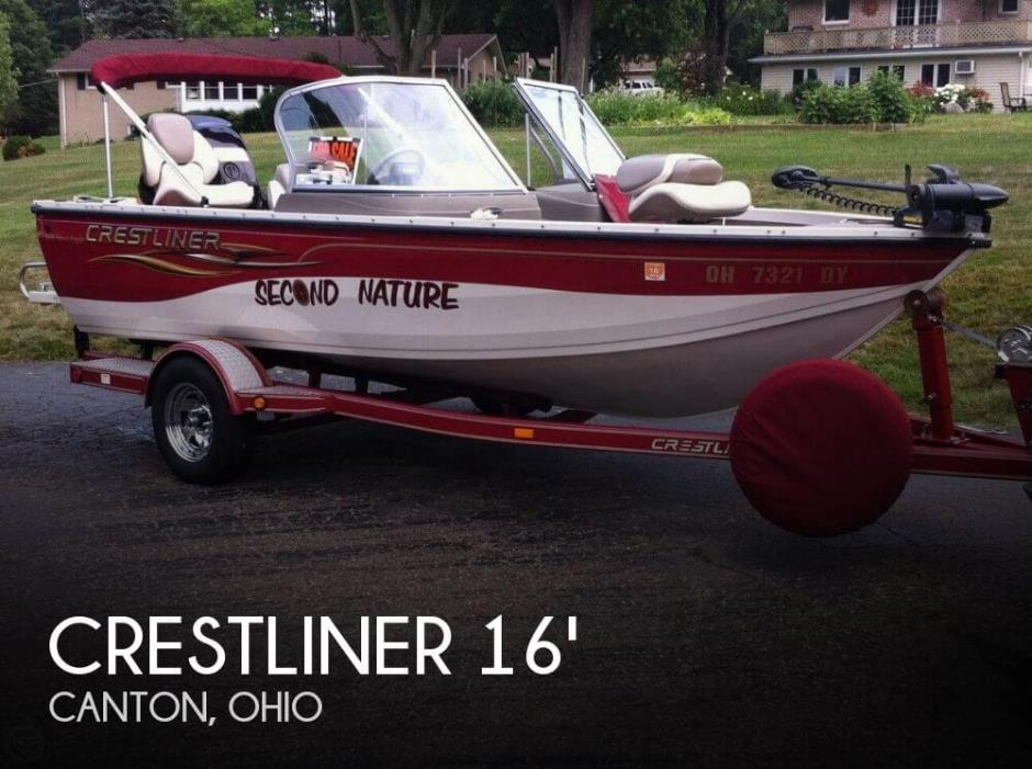2005 Crestliner 1650 Sport Angler