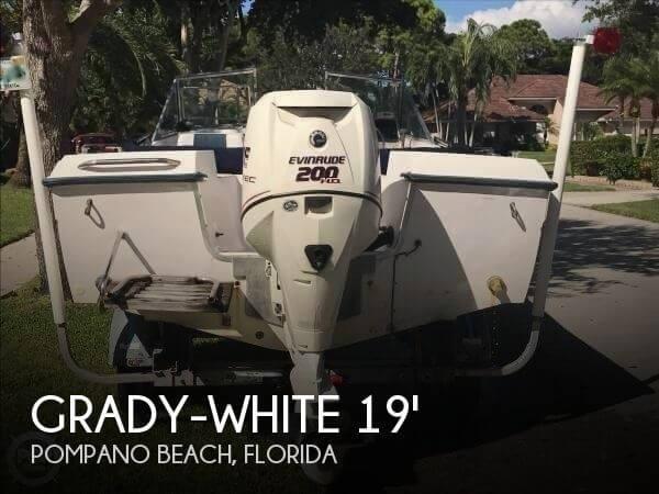 1986 Grady-White Tournament Freedom 190