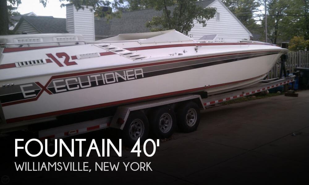 1986 Fountain 40 Executioner 12M