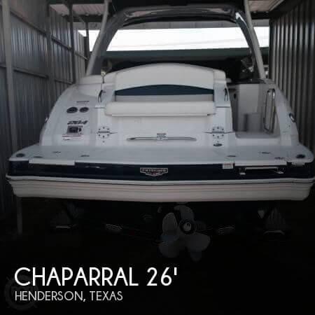 2012 Chaparral 264 Sunesta