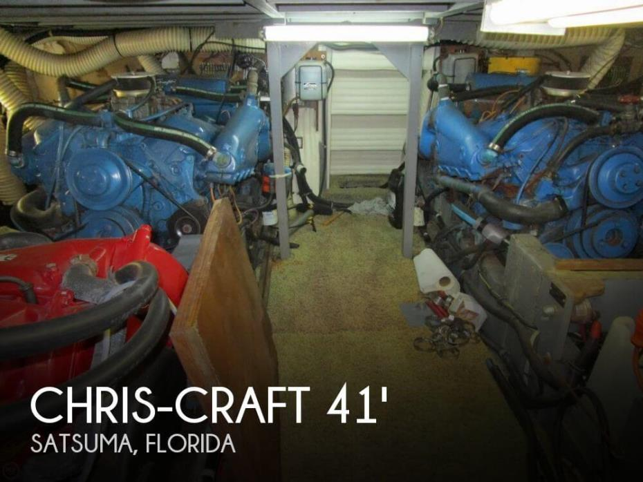 1974 Chris-Craft 410 Commander