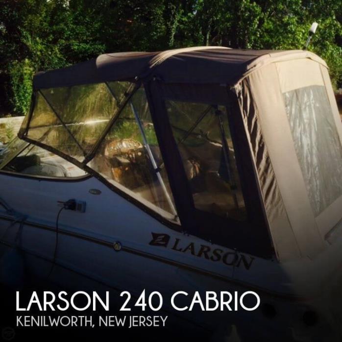 2004 Larson 240 Cabrio