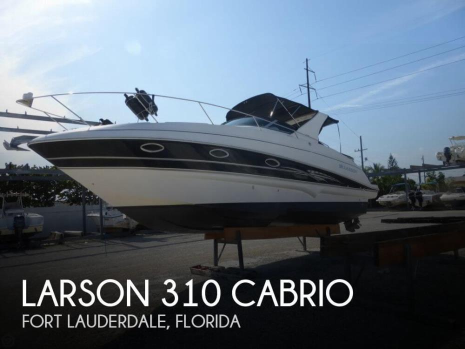 2007 Larson 310 Cabrio
