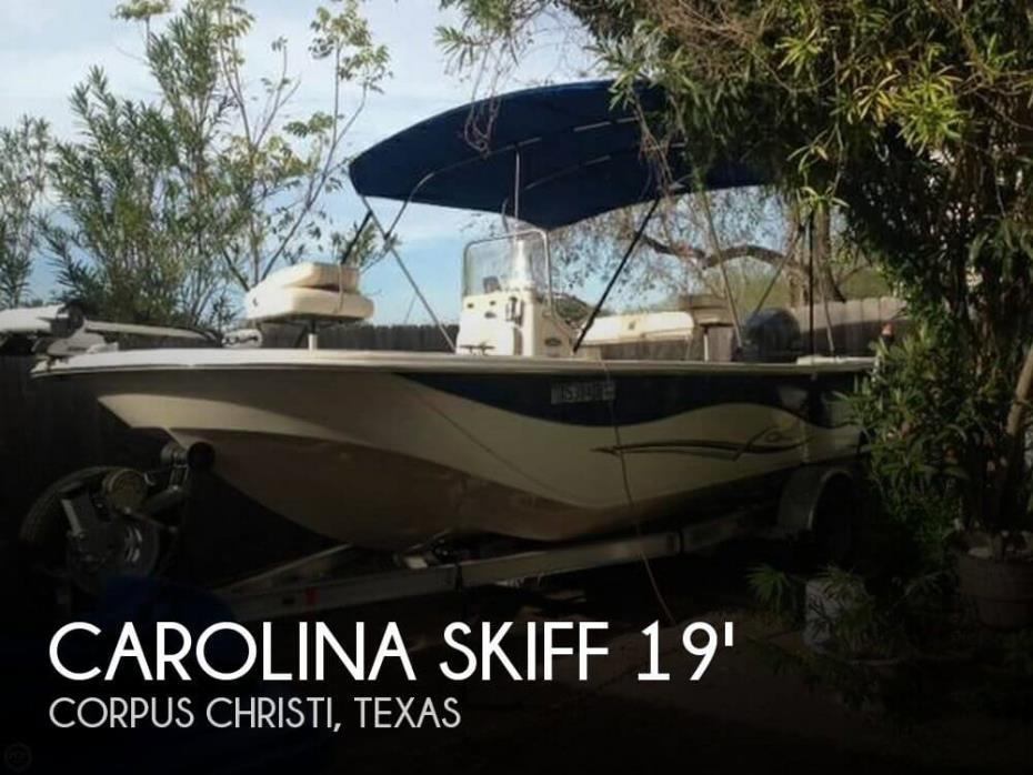 2015 Carolina Skiff 198 DLV Series