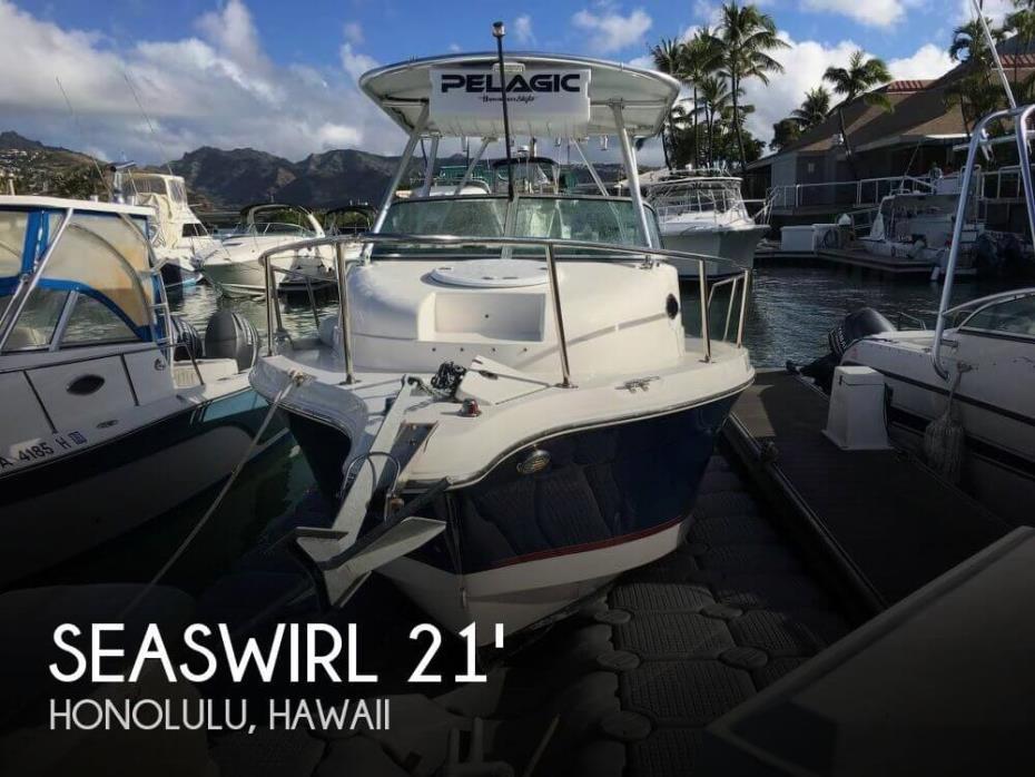 2013 Seaswirl Striper 2101 WA