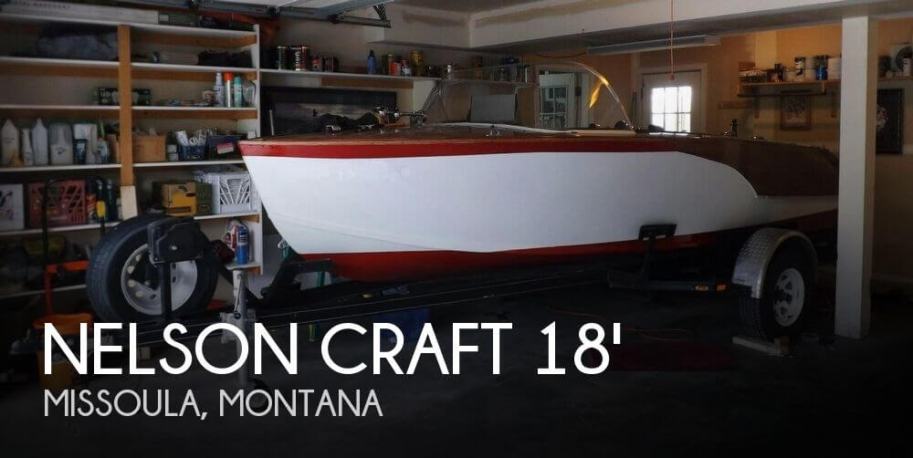 2012 Nelson Craft 18 Runabout