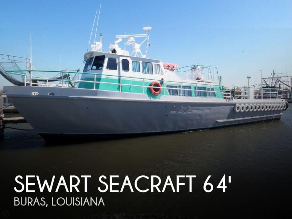 1963 Stewart Seacraft 64 Crew Boat