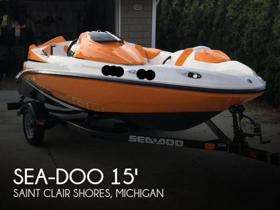 2012 Sea-Doo 150 Speedster