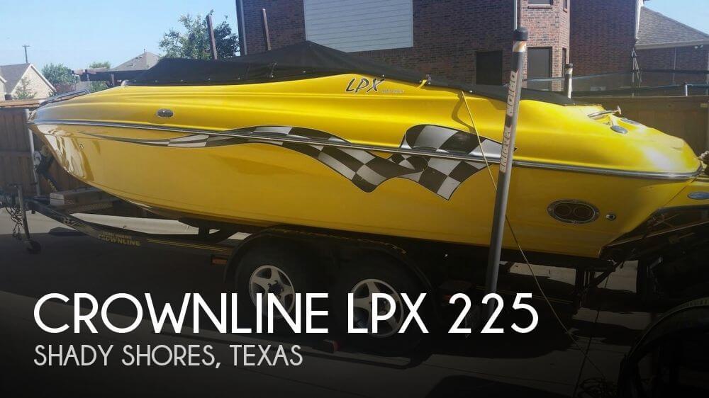 2002 Crownline LPX 225