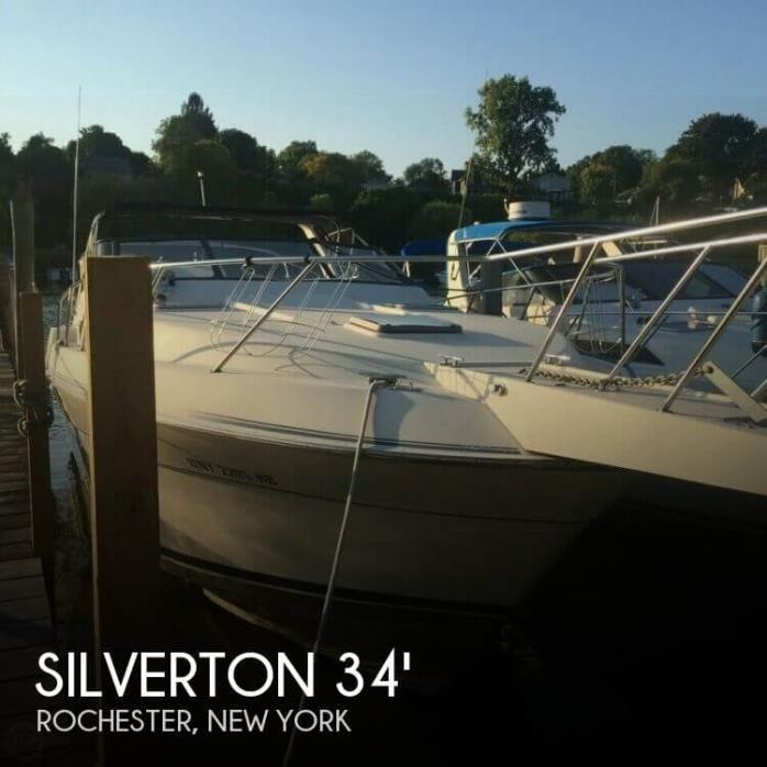 1988 Silverton 34 Express
