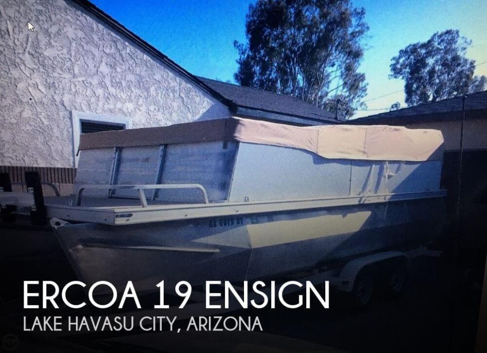 1988 Ercoa 19 Ensign