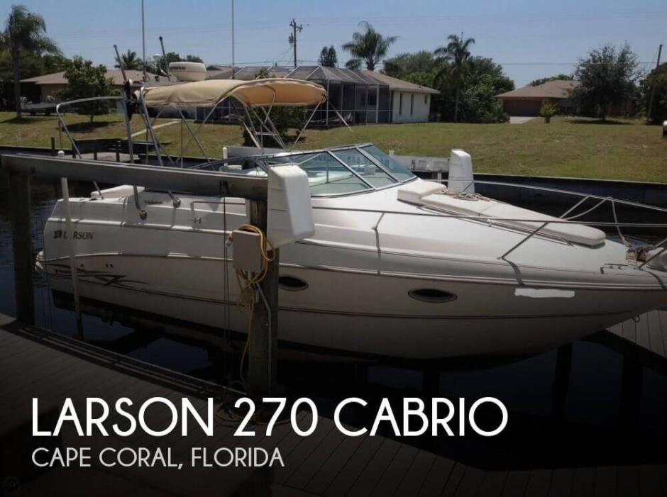 2000 Larson 270 Cabrio