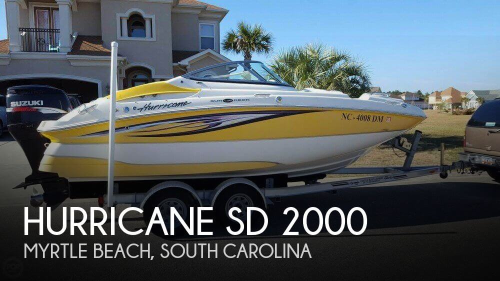 2008 Hurricane SD 2000