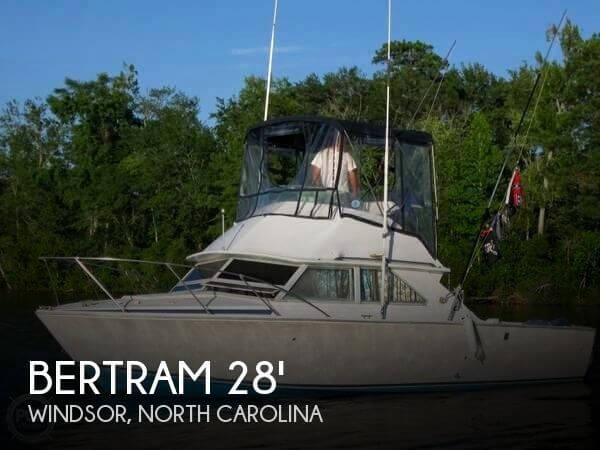 1975 Bertram 28 Flybridge Cruiser