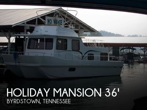 1984 Holiday Mansion Barracuda Houseboat 36 X 12