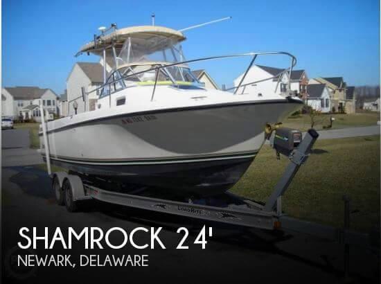 2001 Shamrock 246 WalkAround