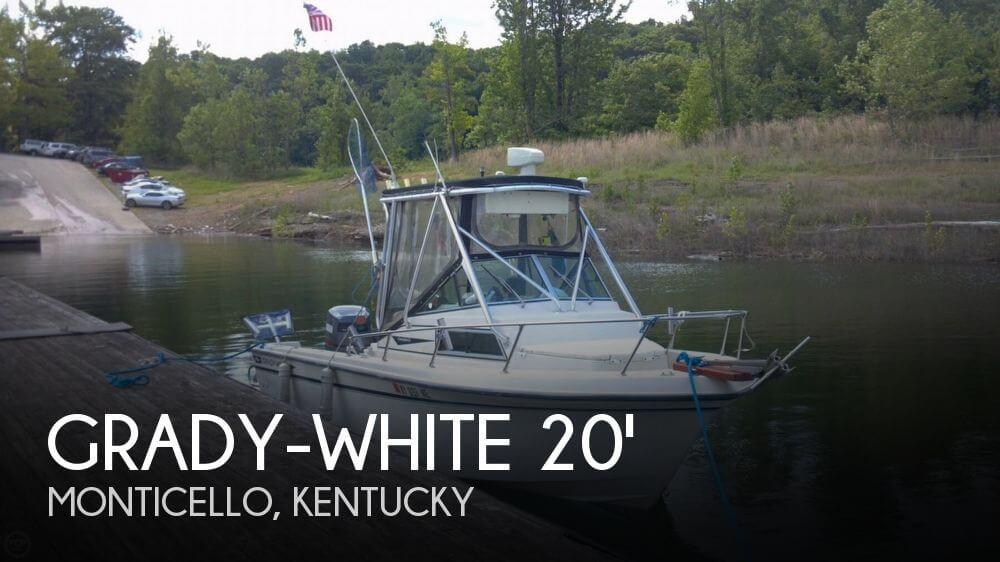 1984 Grady-White 204 Overnighter