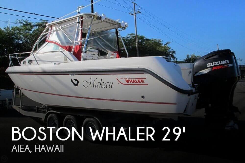 2003 Boston Whaler 295 Conquest Walkaround