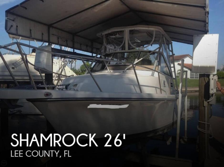 1996 Shamrock 260 Express