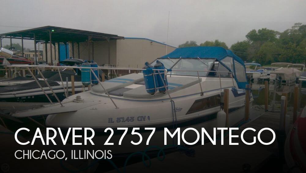 1987 Carver 2757 Montego