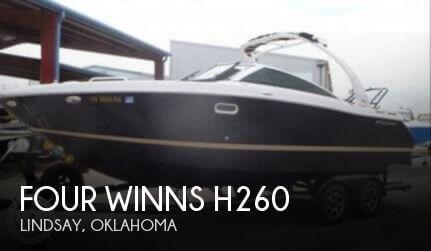 2013 Four Winns H260