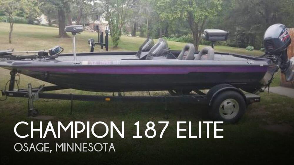 1999 Champion 187 Elite