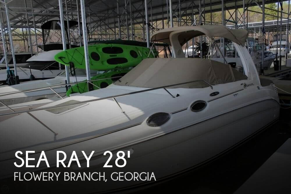 2003 Sea Ray 260 Sundancer