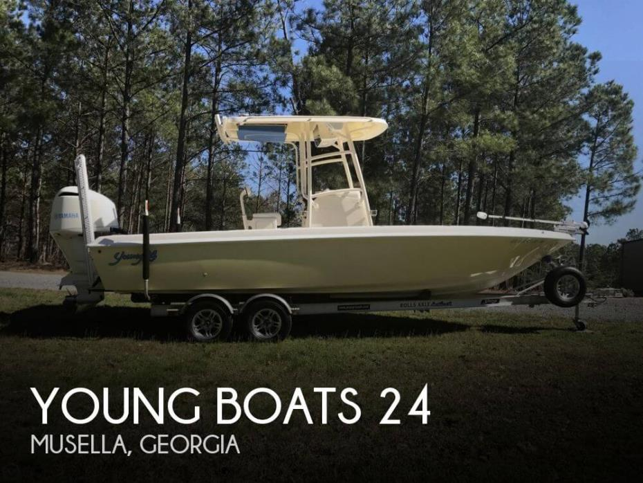 2014 Young Boats 24