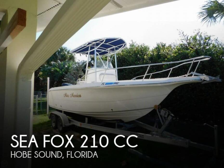 2003 Sea Fox 210 CC