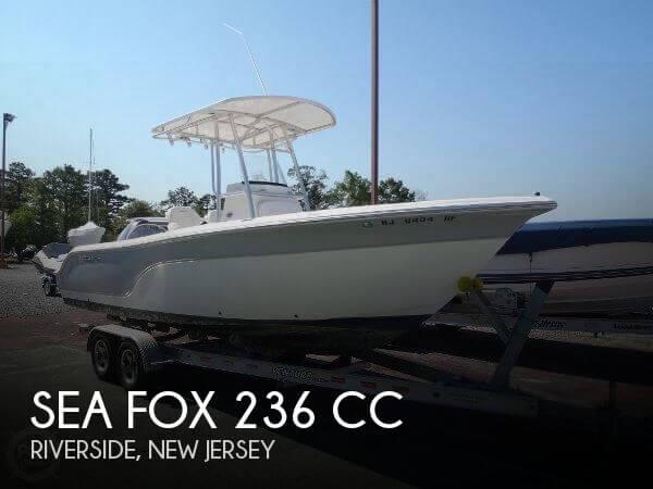 2012 Sea Fox 236 CC