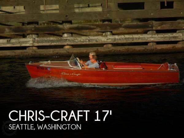 1957 Chris-Craft Sportsman 17