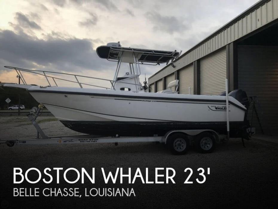2002 Boston Whaler 230 Outrage CC