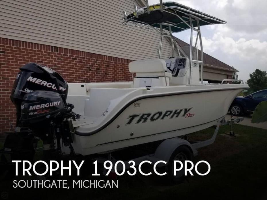 2012 Trophy 1903CC PRO