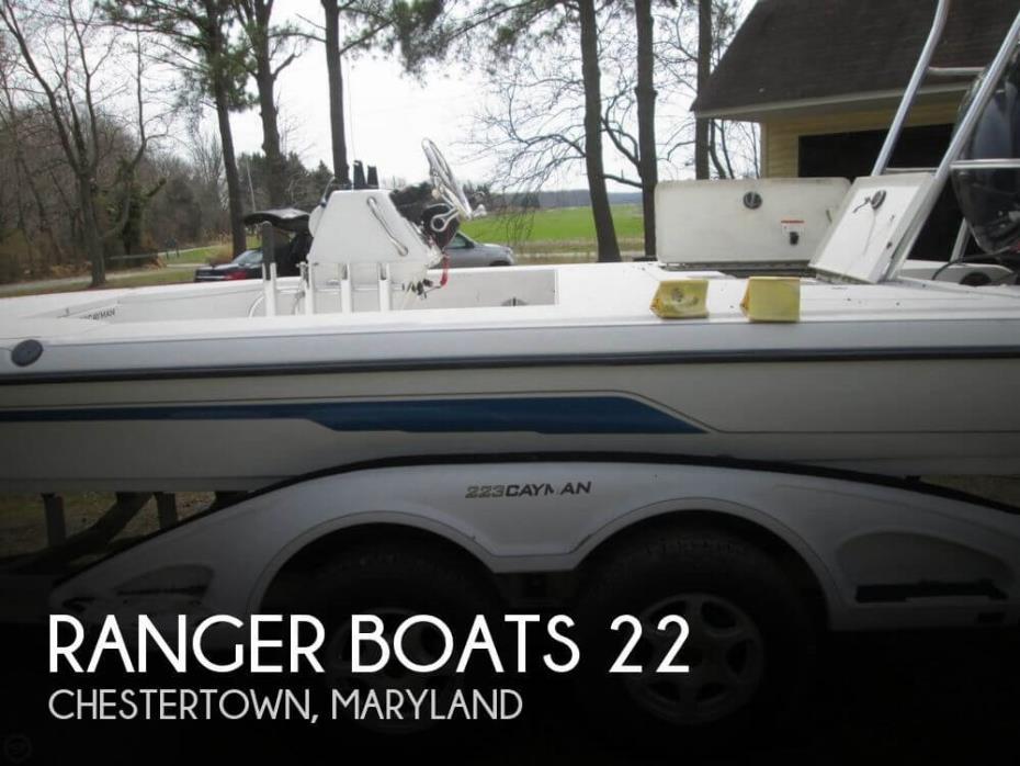 2006 Ranger Boats 22