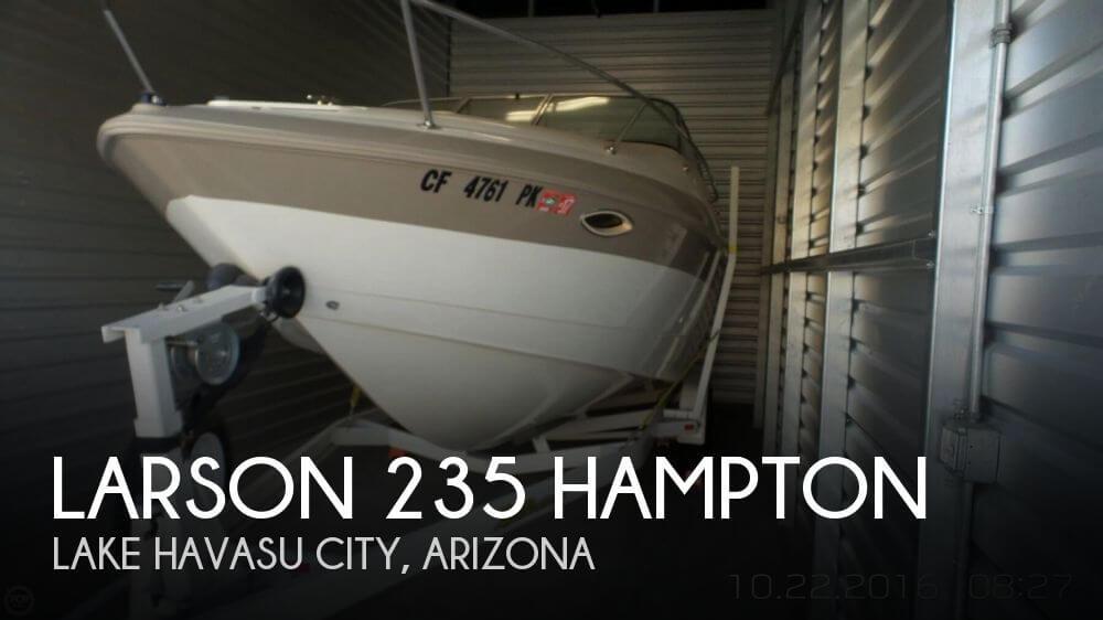 1999 Larson 235 Hampton