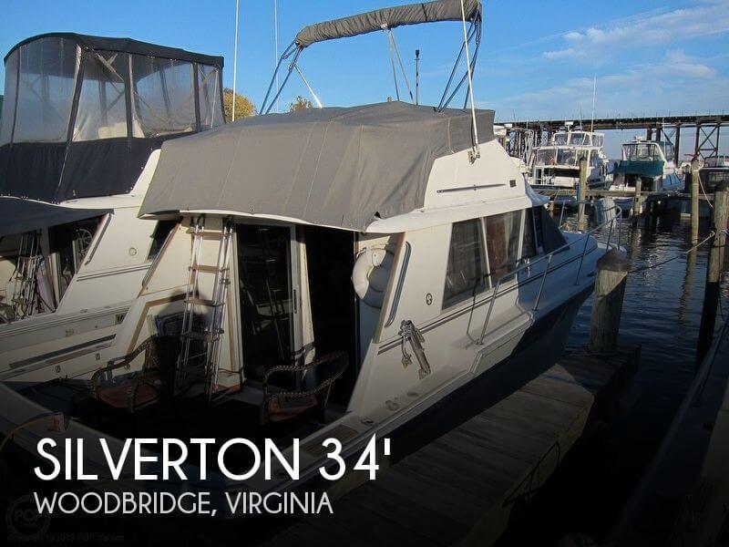 1988 Silverton 34 Convertible