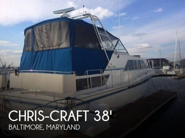 1985 Chris-Craft Catalina 381