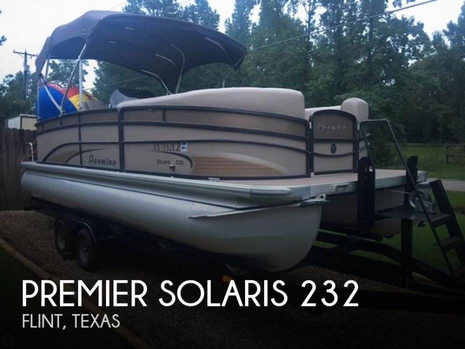 2013 Premier Pontoons Solaris 232