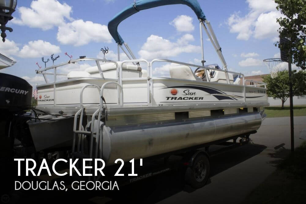 2007 Tracker 21 Fishing Barge